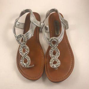 Girls Steve Madden JFINNY Sandals Size 3